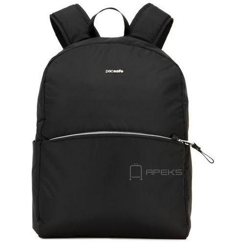 """Pacsafe stylesafe plecak damski na laptopa 11"""" / antykradzieżowy / czarny - black"""