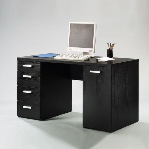 Biurko gabinetowe czarne Kent