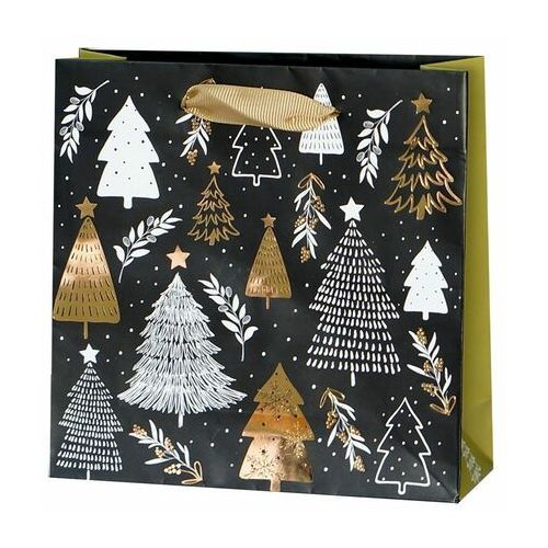 Paw decor Torebka na prezenty christmas tree 6 x 17 cm
