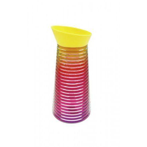 Karafka na napoje RAINBOW ciepłe kolory Zak! Design, 6685-N460