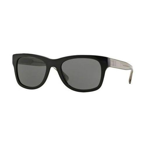 Okulary słoneczne be4211f check asian fit 300187 marki Burberry