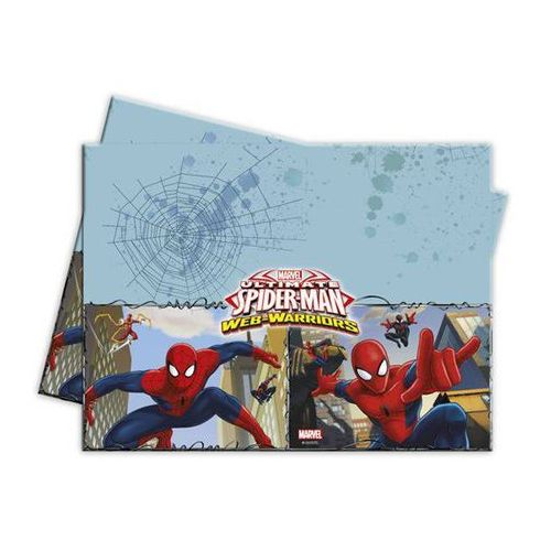 """Obrus plastikowy """"spiderman ultimate"""", człowiek-pająk 120 x 180 cm marki Procos disney"""