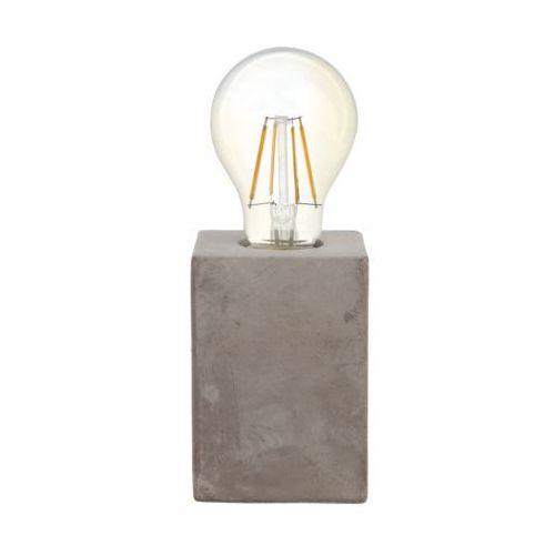 Eglo 49812 - Lampa stołowa PRESTWICK 1xE27/60W