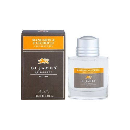 mandarin & patchouli krem do golenia dla mężczyzn 100 ml + do każdego zamówienia upominek. marki St. james of london