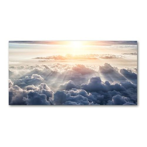 Foto obraz akryl Chmury z lotu ptaka