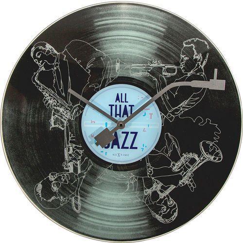 Zegar ścienny 8184 All the Jazz śr. 43cm Nextime