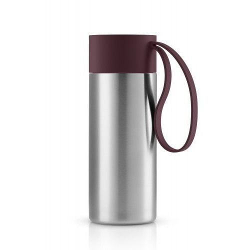 Eva solo Kubek termiczny to go cup xl z bordowym uchwytem