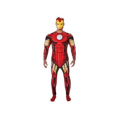 Kostium iron man deluxe dla dorosłych - m/l (standard) marki Rubies