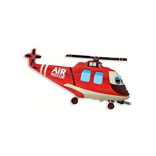 Go Balon foliowy do patyka helikopter ratunkowy - 36 cm - 1 szt.