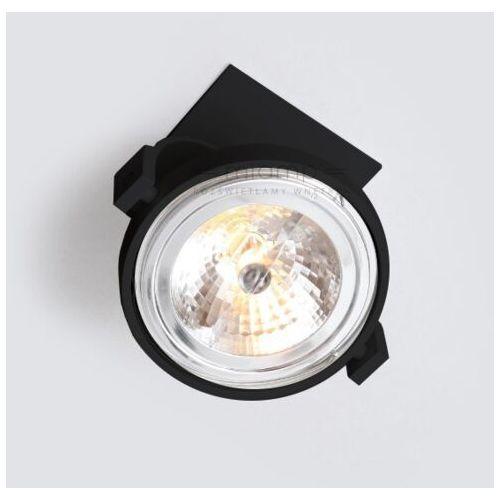 Shilo Podtynkowa lampa sufitowa sakura 7250 metalowa oprawa reflektorowa wpust czarny (1000000247138)