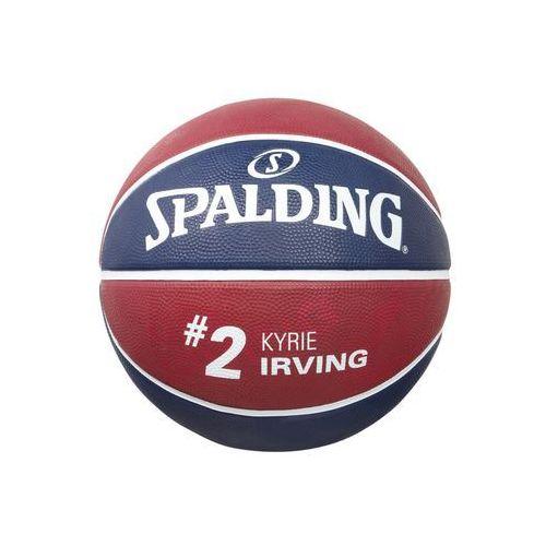 Spalding NBA PLAYER KYRIE IRVING Piłka do koszykówki marine/bordeaux (4051309622888)