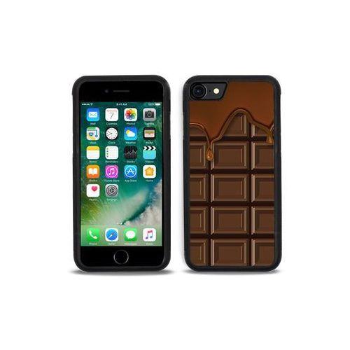 Apple iPhone 7 - etui na telefon Aluminum Fantastic - tabliczka czekolady