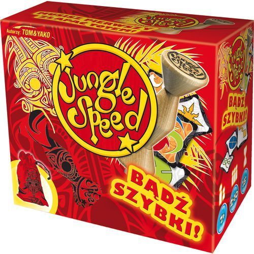 Rebel Jungle speed bądź szybki! (3558380008217)