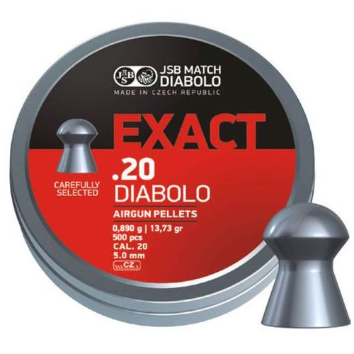 Śrut JSB Diabolo Exact .20 (5.1mm) 500szt (546220-500)