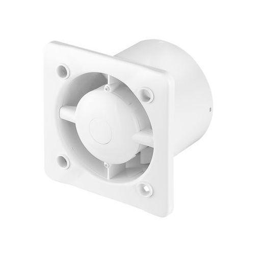 Awenta Cichy wentylator łazienkowy silent - standard - biały szkło
