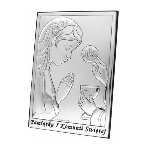 Obrazek na Komunię dla dziewczynki