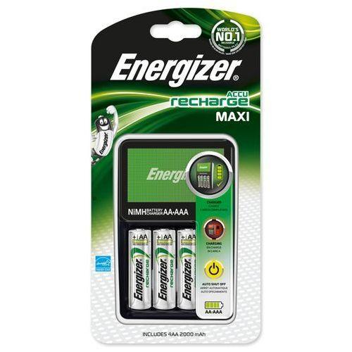 ładowarka Energizer Maxi + 4 x R6/AA 2000 mAh