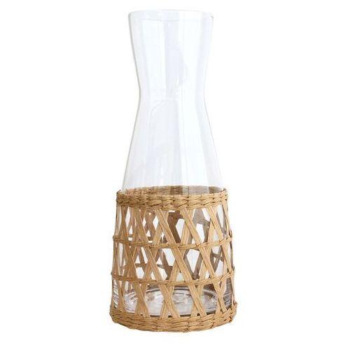 Hk living dzbanek szklany w oprawie wiklinowej agl4010 (8718921013390)