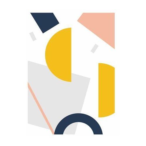 Kanwa geometryczna abstrakcja ii 50 x 70 cm marki Art canvas