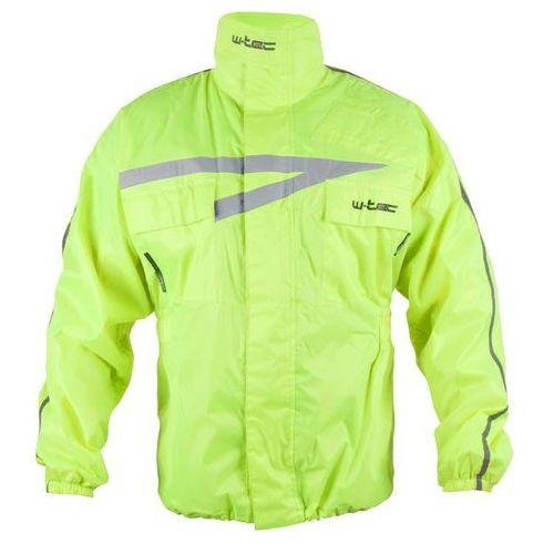 Motocyklowa kurtka przeciwdeszczowa rainy, fluo żółty, xs marki W-tec