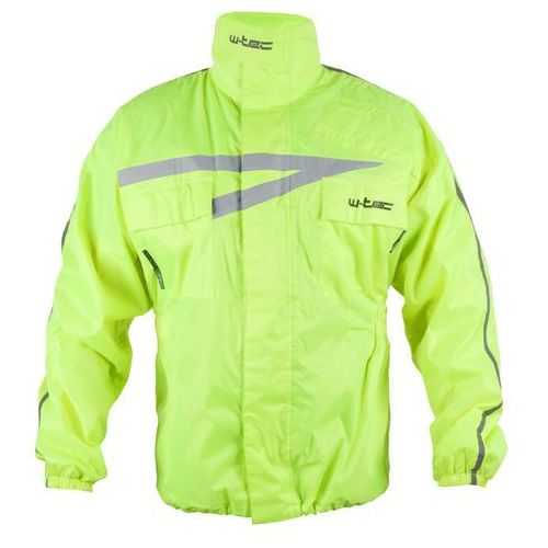 Motocyklowa kurtka przeciwdeszczowa W-TEC Rainy, Fluo żółty, 3XL