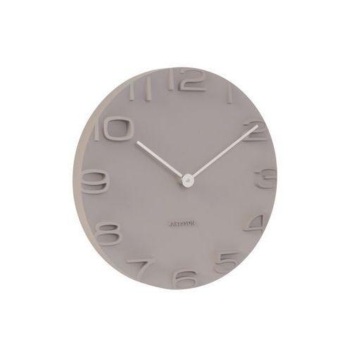 Zegar ścienny On The Edge warm grey by Karlsson