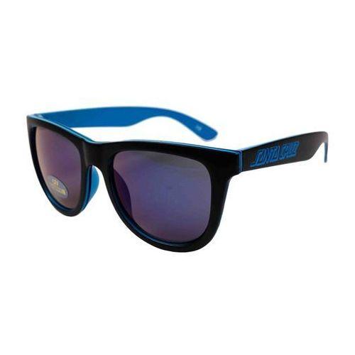 Santa cruz Okulary słoneczne - insider shades blue black (blueblack) rozmiar: os
