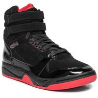Buty - palace guard mid red carpet 370073 01 puma black/risk red/bronze marki Puma