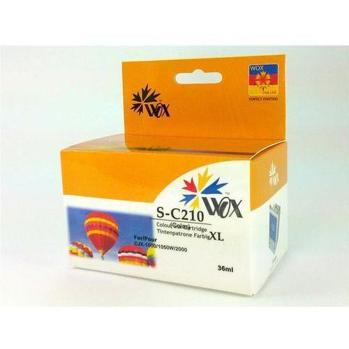 Tusz WOX-S210CMYN Czarny do drukarek Samsung (Zamiennik Samsung INK-C210) [36ml]