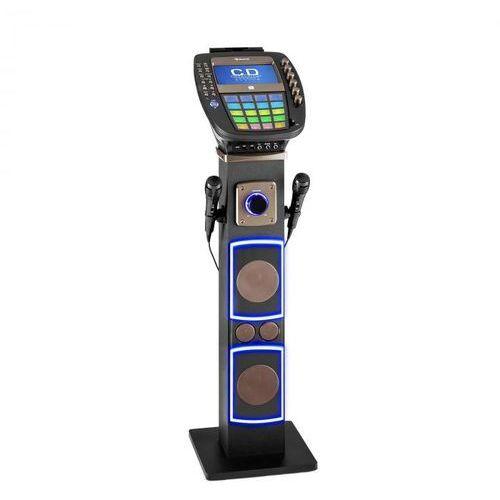 "Karabig zestaw karaoke bluetooth led 7""tft cd usb głośnik built-in marki Auna"