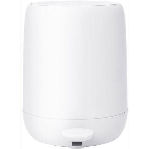 Kosz łazienkowy na śmieci 5 litrowy sono biały (b66284) marki Blomus