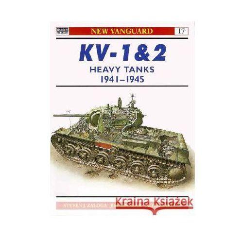 KV-1 & 2 Heavy Tanks 1939-45 (N.V. #17), oprawa miękka