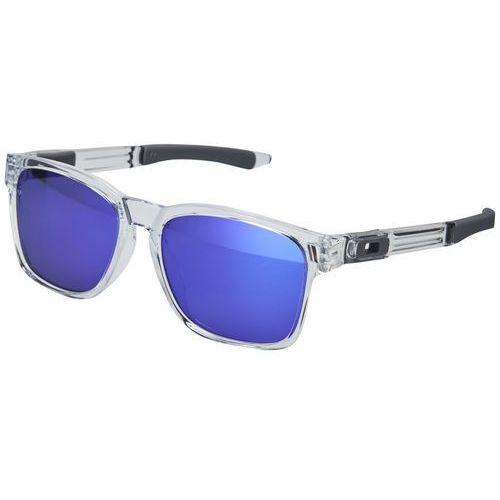 catalyst okulary rowerowe fioletowy/przezroczysty 2018 okulary przeciwsłoneczne marki Oakley