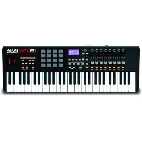 AKAI MPK61 - produkt z kategorii- Klawiatury sterujące, MIDI