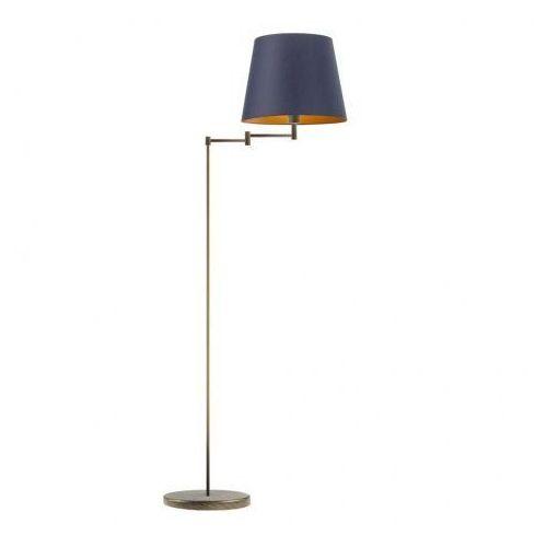 Lysne Nowoczesna lampa podłogowa do sypialni asti gold