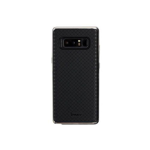 Samsung Galaxy Note 8 - etui na telefon Ipaky - Srebrny, ETSM589IPKYSIV000