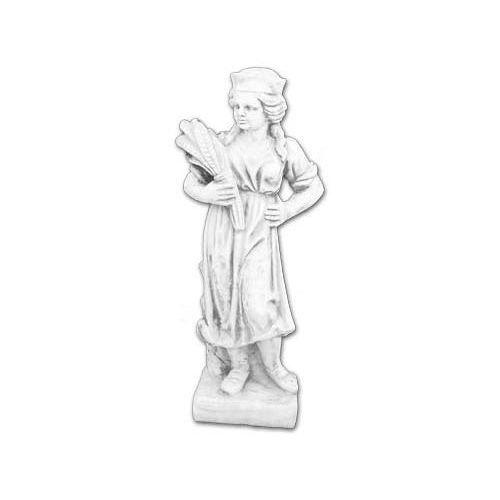 Figura ogrodowa betonowa Dziewczynka z łanami zboża 80cm