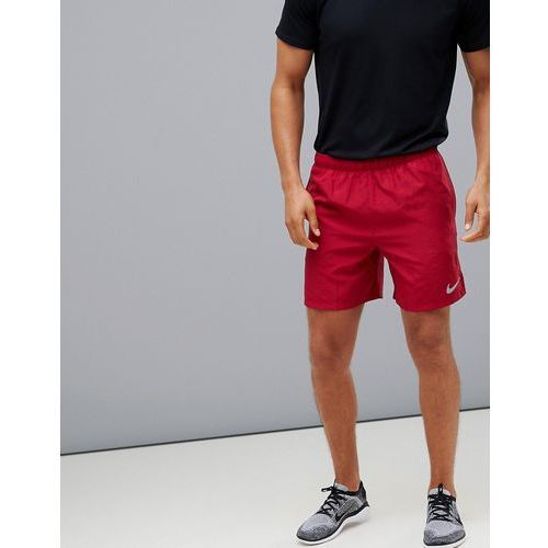 Nike Running Challenger 7 inch shorts in red 908798-618 - Purple