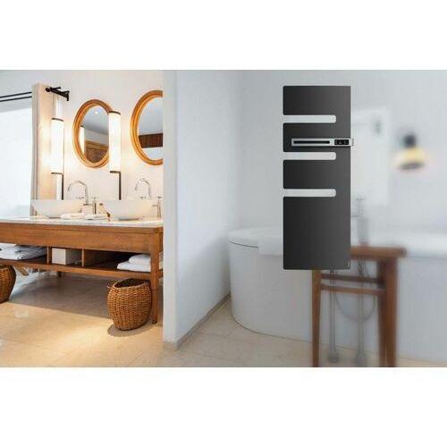 Grzejnik łazienkowy Atlantic Serenis Ventilo Anthracite o mocy 1750W