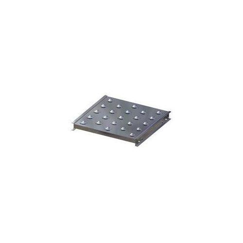 Gura fördertechnik Stół kulowy, wys. konstrukcji 70 mm, szer. przenośnika 500 mm, dł. 500 mm, podzi