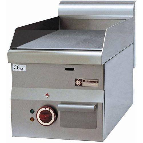 Diamond Płyta grillowa elektryczna gładka nastawna   295x470mm   3000w