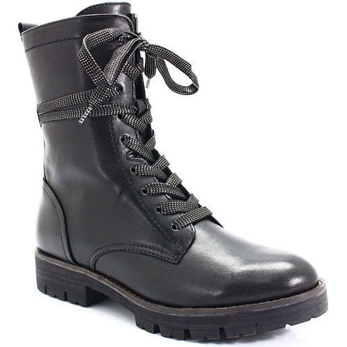 9-25203-21 czarne - wysokie workery, Caprice