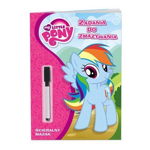 My little pony. zadania do zmazywania. ptc201 marki Praca zbiorowa