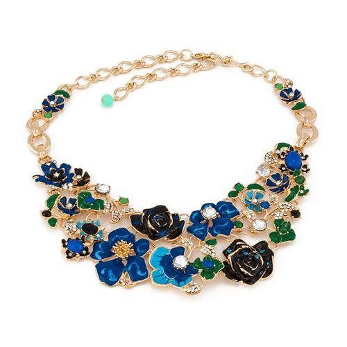 By milla Naszyjnik spring bouquet blue - blue