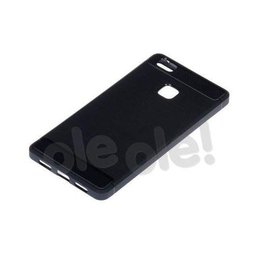 Etui WG Carbon Huawei P9 Lite Czarny