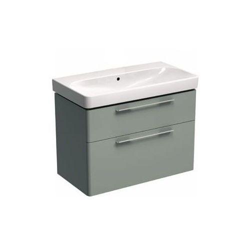 KOŁO szafka + umywalka bez otworu na baterię Traffic 90 platynowy połysk 89438-000+L91090000
