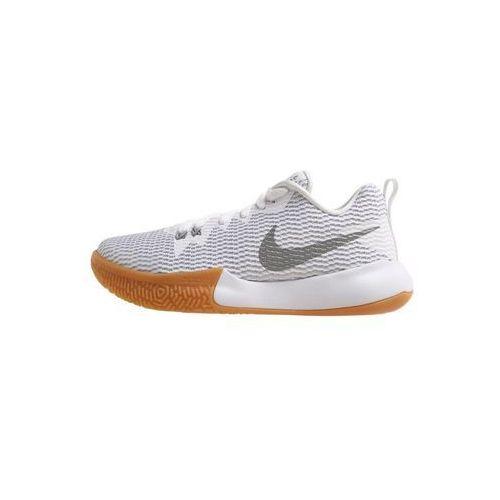 Nike Performance ZOOM LIVE II Obuwie do koszykówki white/reflect silver/pure platinum, AH7578