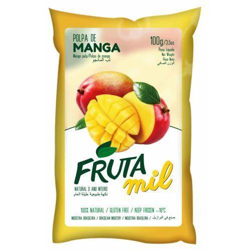 Mango naturalny miąższ (puree owocowe, pulpa, sok z miąższem) bez cukru marki Frutamil comércio de frutas e sucos ltda