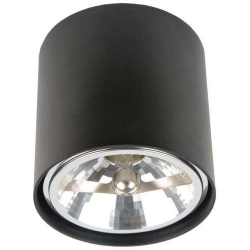 Zumaline Spot lampa sufitowa box 50630 halogenowa oprawa aluminiowa minimalistyczna okrągła regulowana czarna (1000000129540)