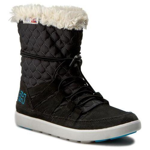 Śniegowce HELLY HANSEN - W Harriet 109-89.990 Black/Light Grey/Natura/Winter Aqua, kolor czarny